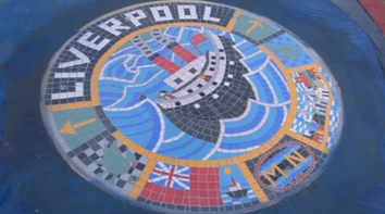A new mosaic to commemorate the Merchant Navy